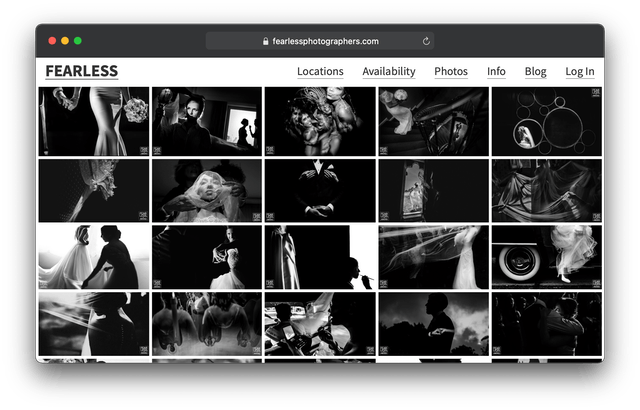 Otro listado de fotógrafos internacional
