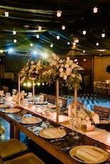 Wedding decoration in hacienda Santa Lucia